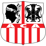 Эмблема (логотип): Футбольный клуб «Аяччо». Logo: