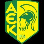 Эмблема (логотип): Футбольный клуб «АЕК» Ларнака. Logo: Athletiki Enosi Kition