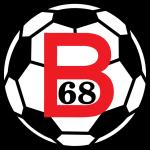 Эмблема (логотип): Футбольный клуб «Б-68» Тофтир. Logo: B68 Toftir
