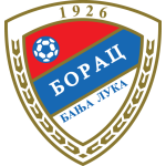 Эмблема (логотип): Футбольный клуб «Борац» Баня-Лука. Logo: Fudbalski klub Borac Banja Luka