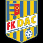 Эмблема (логотип): Футбольный клуб «ДАК» Дунайска Стреда. Logo: FK DAC 1904 Dunajská Streda