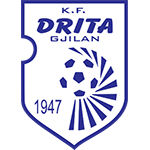 Эмблема (логотип): Футбольный клуб «Дрита» Гнилане. Logo: Football Club Drita