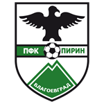 Эмблема (логотип): Футбольный клуб «Пирин» Благоевград. Logo: Football club Pirin Blagoevgrad