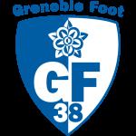 Эмблема (логотип): Футбольный клуб «Гренобль 38». Logo: Grenoble Foot 38