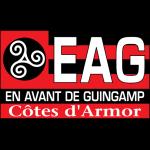 Эмблема (логотип): Футбольный клуб «Генгам» Генган. Logo: En Avant de Guingamp Cotes dArmor