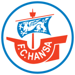 Эмблема (логотип): Футбольный клуб «Ганза» Росток. Logo: