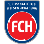 Эмблема (логотип): Футбольный клуб «Хайденхайм» Хайденхайм-на-Бренце. Logo: 1. Fußballclub Heidenheim 1846 e.V.