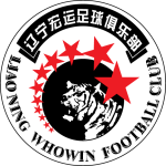 Эмблема (логотип): Футбольный клуб «Ляонин Хувин» Шэньян. Logo: Liaoning Whowin Football Club