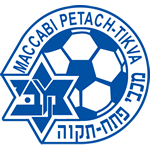 Эмблема (логотип): Футбольный клуб «Маккаби» Петах-Тиква. Logo: Maccabi Avshalom Ironi Petah Tikva Football Club