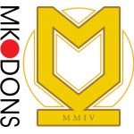 Эмблема (логотип): Футбольный клуб «Милтон Кинс Донс» Милтон-Кинс. Logo: Milton Keynes Dons Football Club