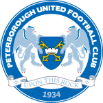 Эмблема (логотип): Футбольный клуб «Питерборо Юнайтед» Питерборо. Logo: Peterborough United Football Club