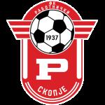 Эмблема (логотип): Футбольный клуб «Работнички» Скопье. Logo: Fudbalski klub Rabotnički Skopje