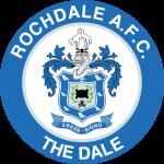 Эмблема (логотип): Футбольный клуб «Рочдейл». Logo: Rochdale Association Football Club
