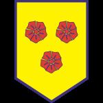Эмблема (логотип): Футбольный клуб «Тре Фиори» Фьорентино. Logo: Società Polisportiva Tre Fiori
