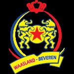 Эмблема (логотип): Футбольный клуб «Васланд-Беверен» Беверен. Logo: Koninklijke Voetbalclub Red Star Waasland-Sportkring-Beveren