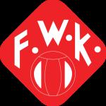 Эмблема (логотип): Футбольный клуб «Вюрцбургер Кикерс» Вюрцбург. Logo: Fußball-Club Würzburger Kickers e.V.