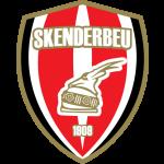 Эмблема (логотип): Футбольный клуб Скендербеу Корча. Logo: Klubi Futbollistik Skënderbeu Korçë