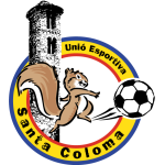 Эмблема (логотип): Унио Эспортива Санта-Колома. Logo: Unió Esportiva Santa Coloma