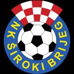 Эмблема (логотип): Футбольный клуб «Широки Бриег». Logo: Nogometni Klub «Široki Brijeg»