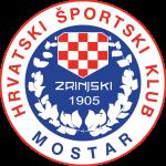 Эмблема (логотип): Хорватский спортивный клуб Зриньски Мостар. Logo: Hrvatski športski klub Zrinjski Mostar