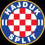 Эмблема (логотип): Хорватский футбольный клуб Хайдук Сплит. Logo: Hrvatski nogometni klub Hajduk Split