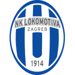 Эмблема (логотип): Футбольный клуб Локомотива Загреб. Logo: Nogometni klub Lokomotiva Zagreb