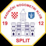 Эмблема (логотип): Футбольный клуб Сплит. Logo: Radnički nogometni klub Split