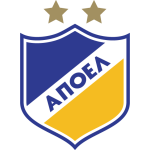 Эмблема (логотип): АПОЭЛ Никосия. Logo: Athletic Football Club of Greeks of Nicosia