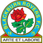 Эмблема (логотип): Футбольный клуб «Блэкберн Роверс» Блэкберн. Logo: Blackburn Rovers Football Club