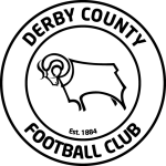 Эмблема (логотип): Футбольный клуб «Дерби Каунти» Дерби. Logo: Derby County Football Club