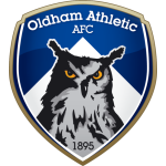 Эмблема (логотип): Ассоциация Футбольный клуб Олдем Атлетик. Logo: Oldham Athletic Association Football Club