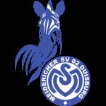 Эмблема (логотип): Футбольный клуб «Дуйсбург». Logo: Meidericher Spielverein 02 e. V. Duisburg