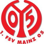 Эмблема (логотип): Футбольный клуб «Майнц 05» Майнц. Logo: 1. Fußball- und Sport-Verein Mainz 05 e.V.