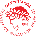 Эмблема (логотип): Клуб Олимпиакос Пирей. Logo: Olympiacos Club of Fans of Piraeus