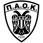 Эмблема (логотип): ПАОК Салоники. Logo: Pan-Thessalonian Athletic Club of Constantinopolitans