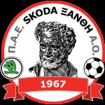 Эмблема (логотип): АС Шкода Ксанти. Logo: PAE Skoda Xanthi Athlitikos Omilos