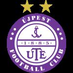 Эмблема (логотип): Футбольный клуб Уйпешт Будапешт. Logo: Újpest Football Club