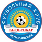 Эмблема (логотип): Футбольный клуб «Кызыл-Жар СК». Logo: Football Club Kyzyl-Zhar SK