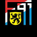 Эмблема (логотип): Ф91 Дюделанж. Logo: F91 Dudelange