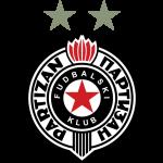 Эмблема (логотип): Футбольный клуб Партизан Белград. Logo: Fudbalski klub Partizan Beograd