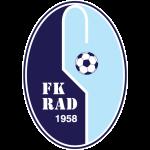 Эмблема (логотип): Футбольный клуб «Рад» Белград. Logo: Fudbalski klub Rad Beograd