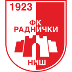Эмблема (логотип): Футбольный клуб «Раднички» Ниш. Logo: Fudbalski klub Radnički Niš