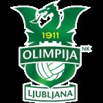Эмблема (логотип): Футбольный клуб Олимпия Любляна. Logo: Nogometni Klub Olimpija Ljubljana