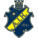 Эмблема (логотип): Футбольный клуб «АИК» Сольна. Logo: Allmänna Idrottsklubben